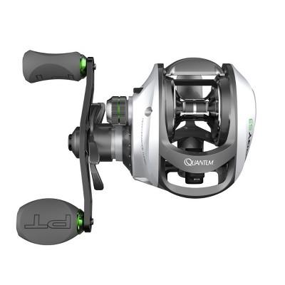 Quantum Energy S3 PT Baitcast Fishing Reel, 10+1 Bearings, 6.3:1 Gear Ratio, Size 100