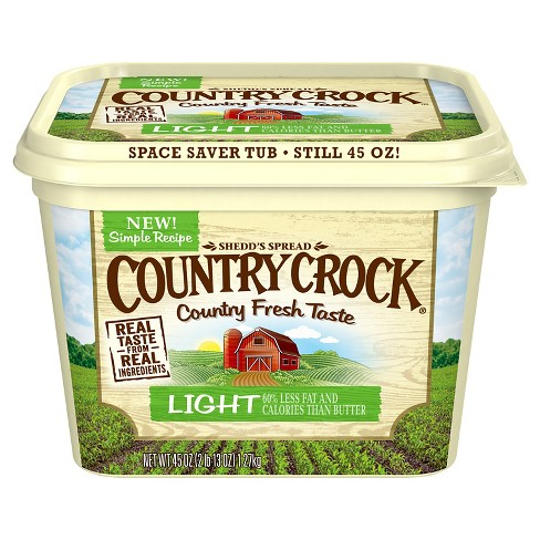 Country Crock Light Vegetable Oil Spread Tub - 45oz - image 1 of 2