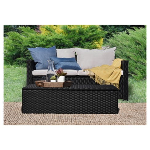 Laguna 2pc All Weather Wicker Patio