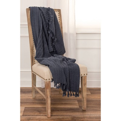 """50""""x60"""" Textured Striped Throw - Rizzy Home : Target"""