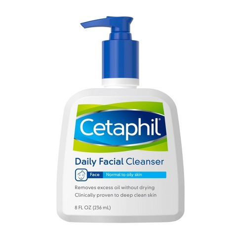 Cetaphil Daily Facial Cleanser - 8 fl oz - image 1 of 4
