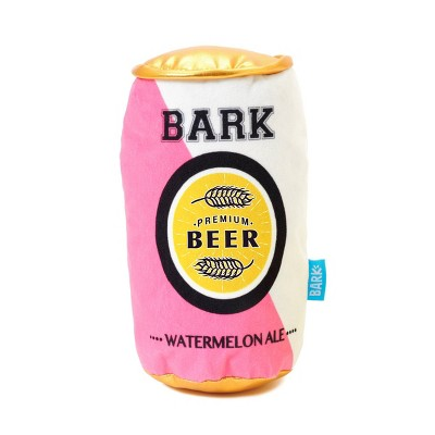 BARK Summer Beer Dog Toy - Watermelon Chewski