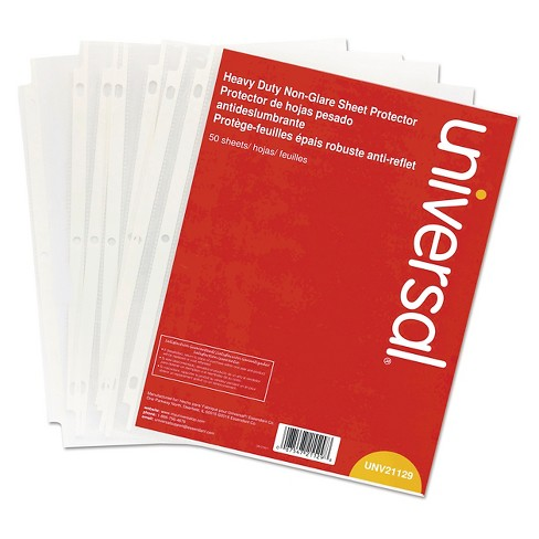 Document Sleeve Clear Universal Office - image 1 of 5