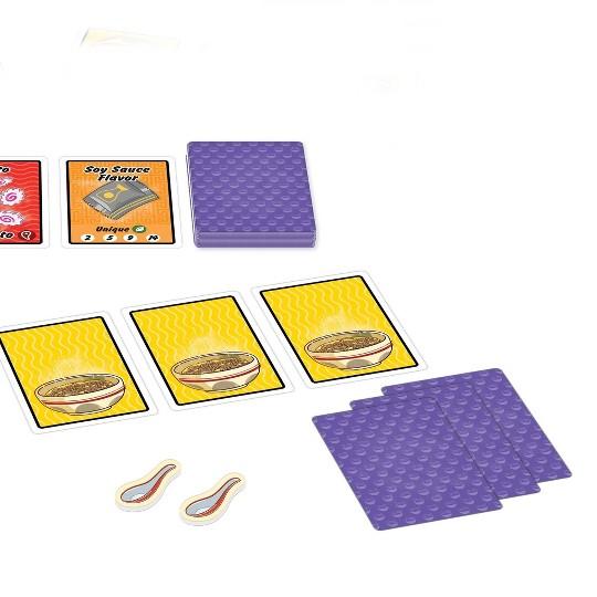 Mixlore Ramen Fury Card Game image number null