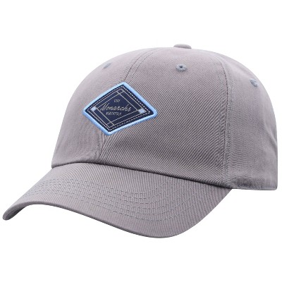 NCAA Old Dominion Monarchs Men's Gray Washed Relaxed Fit Hat