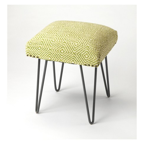 Butler Specialty Channahon Upholstered Stool Green - image 1 of 4