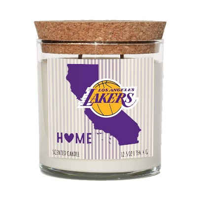 NBA Los Angeles Lakers Home State Candle