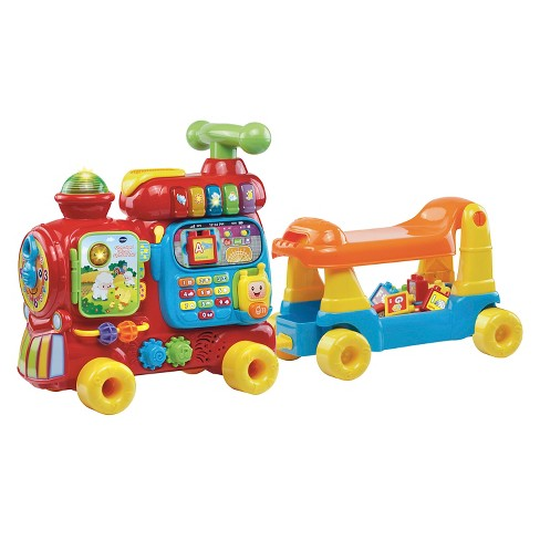 VTech Sit-to-Stand Ultimate Alphabet Train - image 1 of 4