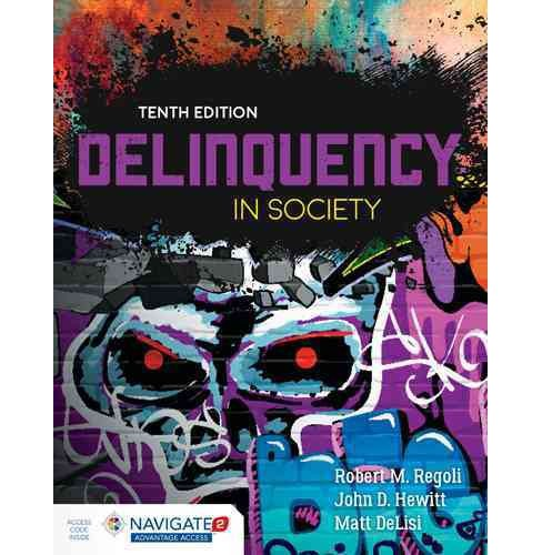 Delinquency in Society (Paperback) (Ph.D. Robert M. Regoli) - image 1 of 1