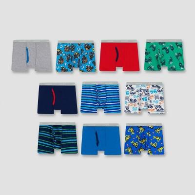 Hanes Toddler Boys' 10pk Boxer Briefs