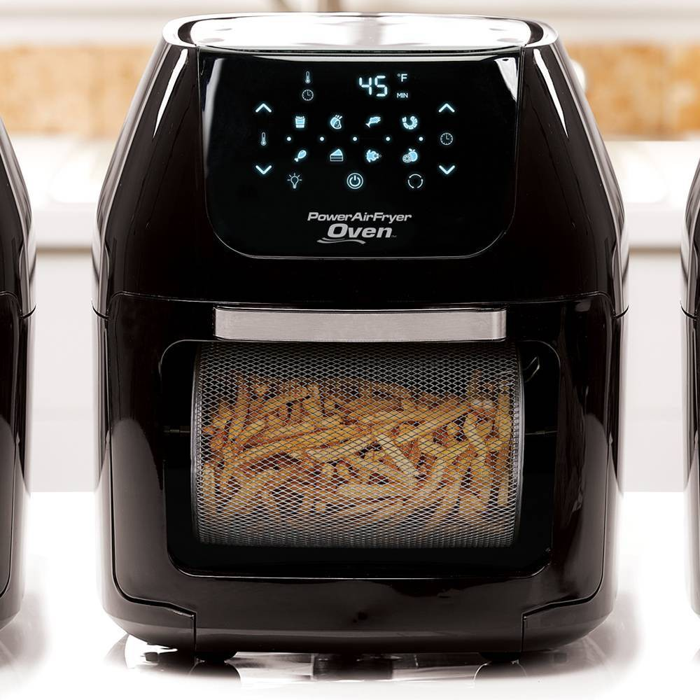 Image of As Seen on TV 6qt Digital Power Air Fryer Oven, Black