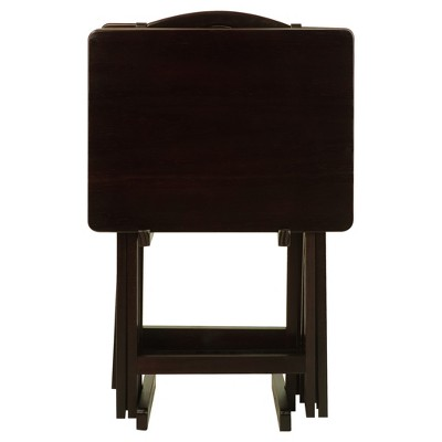 5pc Tray Table Set - Flora Home