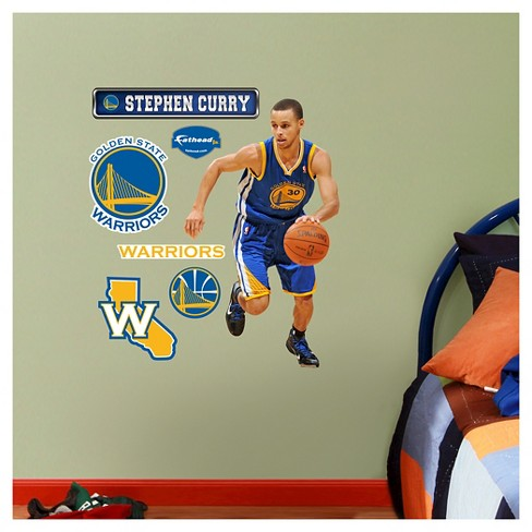 "Golden State Warriors Fathead® Decorative Wall Art Set - 40""x3""x3"" - image 1 of 1"