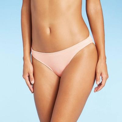 Juniors' Metallic Textured Cheeky Bikini Bottom - Xhilaration™