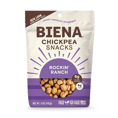 Biena Rockin' Ranch Roasted Chickpeas - 5oz
