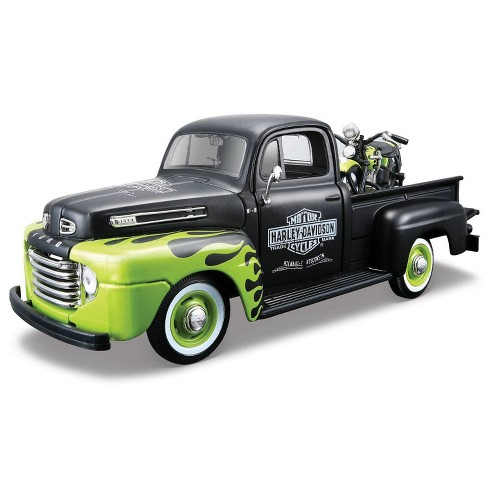 Harley-Davidson 48 FL Panhead & '48 Ford F-1 Pickup Diescast Vehicle - image 1 of 1