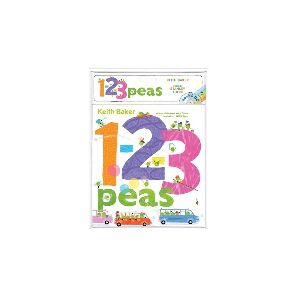 1-2-3 Peas - Pap/Com RE (Peas) by Keith Baker (Paperback)