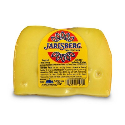 Jarlsberg Swiss Style Cheese Wedge - 8oz