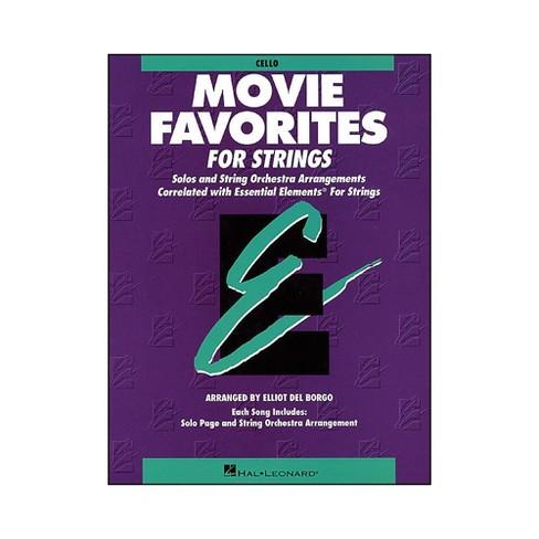 Hal Leonard Movie Favorites Cello Essential Elements - image 1 of 1
