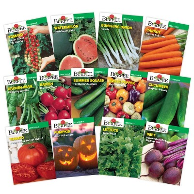 Burpee Garden Essential Vegetable Seed Collection - 13pk