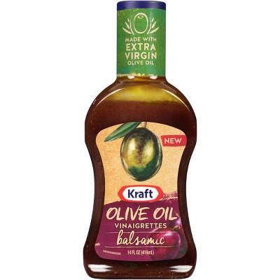 Kraft Balsamic Olive Oil Vinaigrettes - 14fl oz