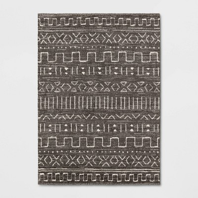 7'x10' Avriel Modern Geometric Rug Gray - Project 62™
