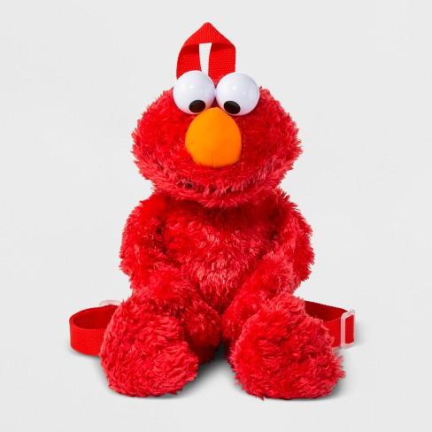 3c71fd7870 Toddler Boys' Sesame Street Elmo Plush Backpack - Red : Target