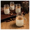 Cathy's Concepts 16.5oz 4pk Monogram Old-Fashioned Drinking Jars A-Z - image 3 of 4