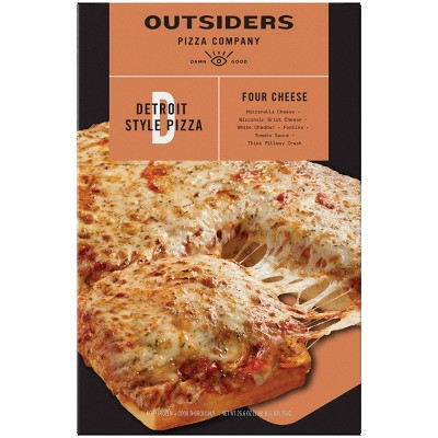 Outsiders Pizza Company Detroit Style Four Cheese Frozen Pizza - 26.6oz
