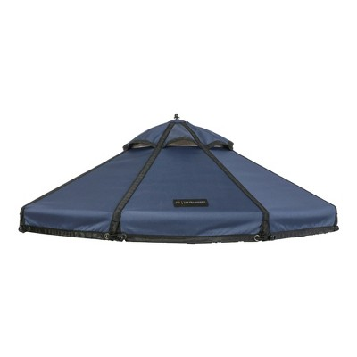 Advantek Pet 5 Foot Pet Outdoor Gazebo Designer Polyester Market Canopy Cover Tarp Umbrella Top, Cobalt Sky