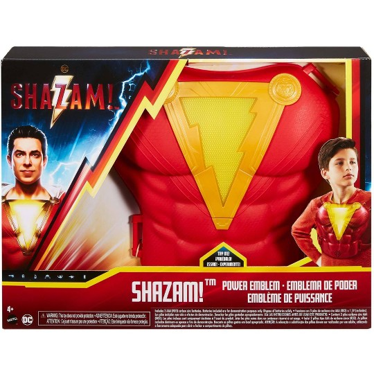 DC Comics Shazam! Power Emblem Chest Plate, Red image number null