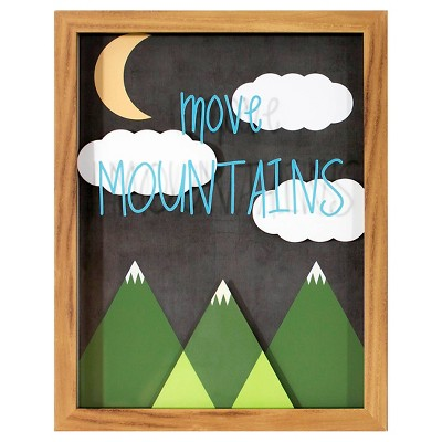 Move Mountains Framed Art - Pillowfort™