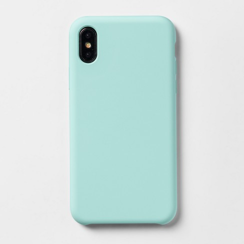 best loved f9bd4 0a9fa heyday™ Apple iPhone X/XS Silicone Case - Teal