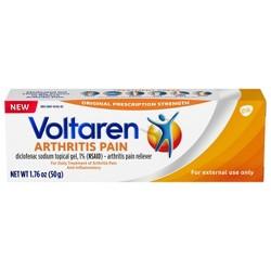Voltaren Diclofenac Sodium Topical Arthritis Pain Relief Gel Tube - 1.7 oz