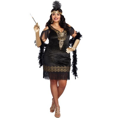 Dreamgirl Swanky Flapper Plus Size Costume