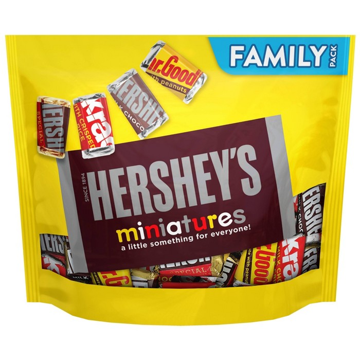 Hershey's Miniatures Chocolate Candy - 17.6oz - image 1 of 4