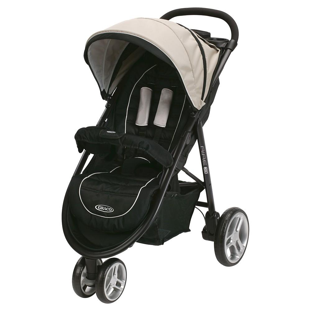 Graco Aire3 Click Connect 3-Wheel Stroller - Pierce
