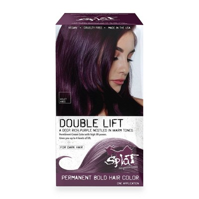 Splat Double Lift Permanent Color Purple