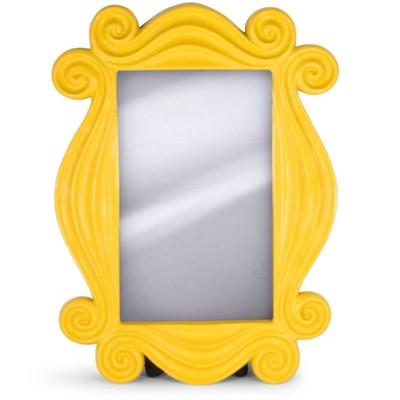 Robe Factory LLC Friends TV Show Yellow Peephole Frame Door Mirror Replica | 15 x 11 Inches