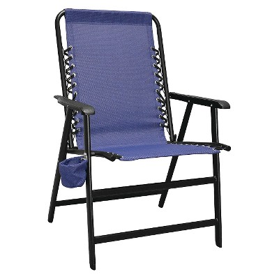 Caravan Global Xl Suspension Folding Chair Blue