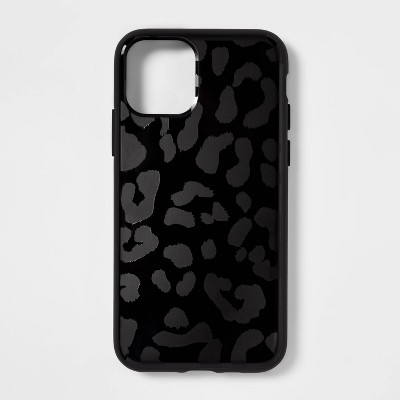 heyday™ Apple iPhone 11 Pro/X/XS Case - Black Leopard Print