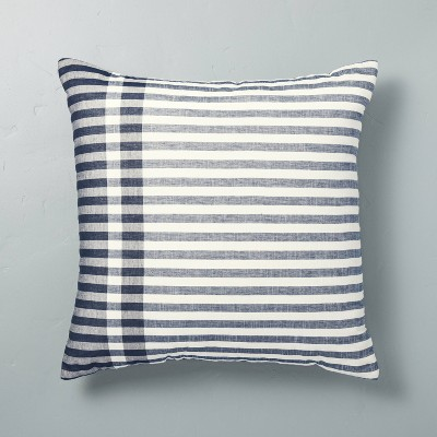 Contrast Edge Stripe Throw Pillow - Hearth & Hand™ with Magnolia