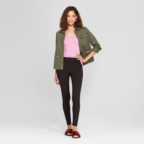 33cd5a47853d2e Women's Knit Leggings - A New Day™ Black : Target