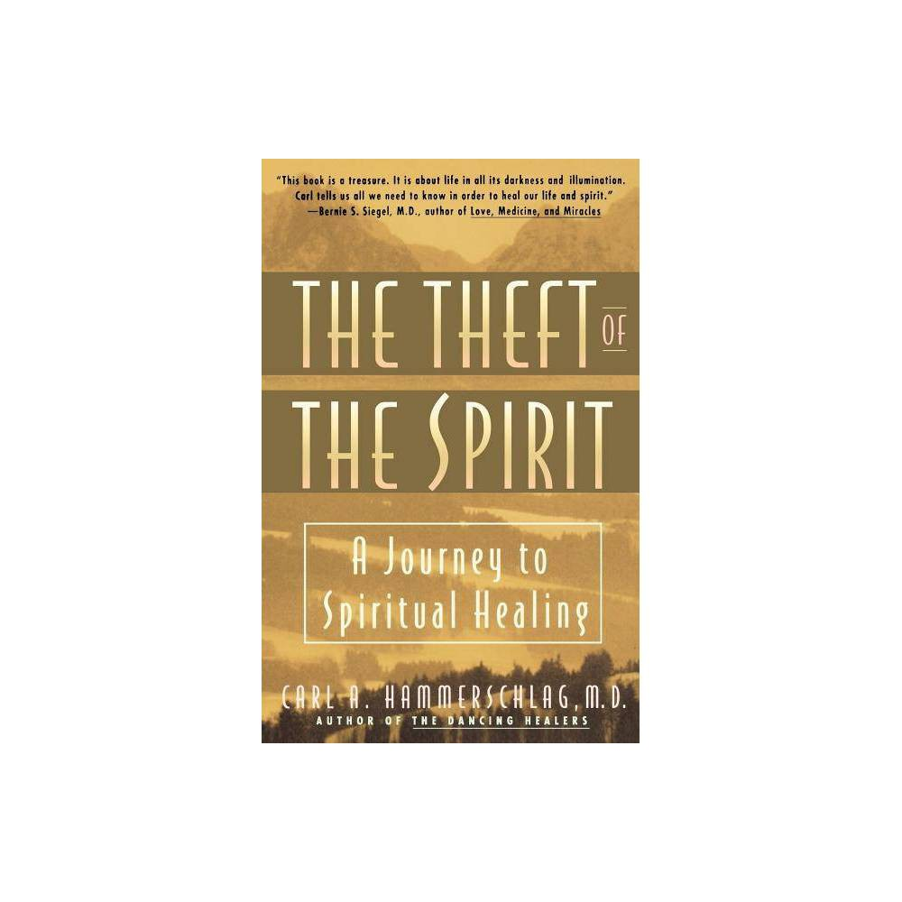 Theft Of The Spirit Journey To Spiritual Healing By Carl Hammerschlag Paperback