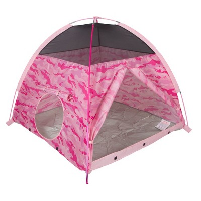 Pacific Play Tents Kids Pink Camo Dome Play Tent 4' x 4'