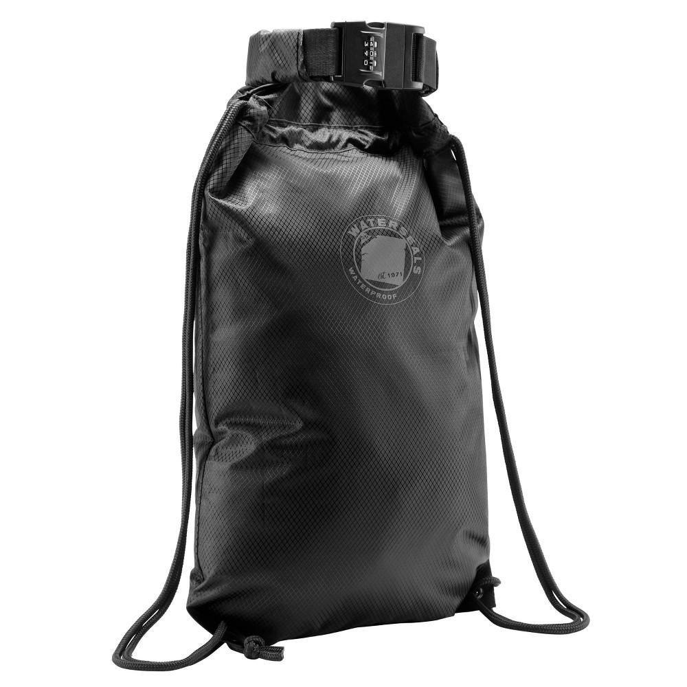 Image of Lewis N. Clark WaterSeals Drawstring Bag with Secura Lock Technology - Black