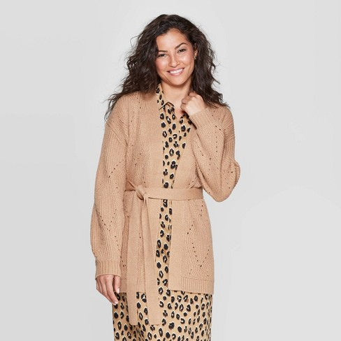 Women's Long Sleeve Cardigan - A New Day™ - image 1 of 3