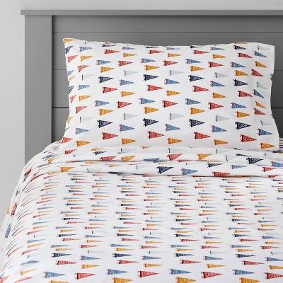 Pennants Cotton Sheet Set - Pillowfort™
