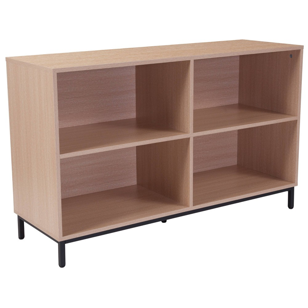 "Image of ""29.5"""" Dudley Bookshelf Brown - Riverstone Furniture"""