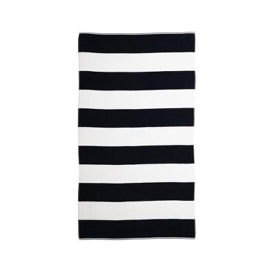 Caro Cabana Beach Towel Navy - Caro Home